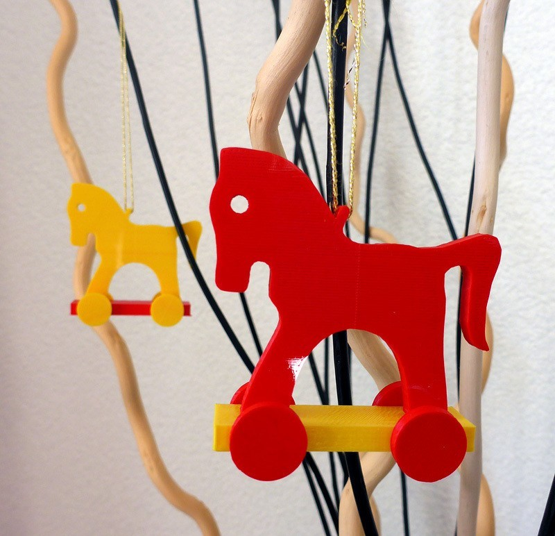horse_display_large.jpg Download free STL file Toy horse tree ornament • 3D printing object, Girthnath