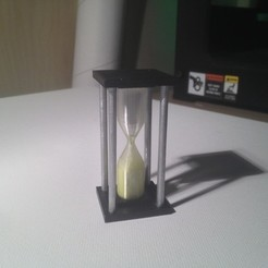 Download free 3D model 9-12 Second Hourglass Timer, Girthnath