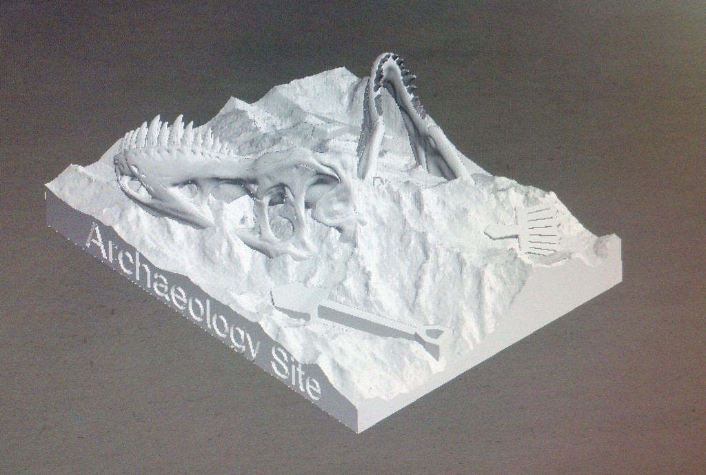 IMG_20140513_181635_388_display_large.jpg Download free STL file Dino Dig Site! • 3D printing template, Girthnath