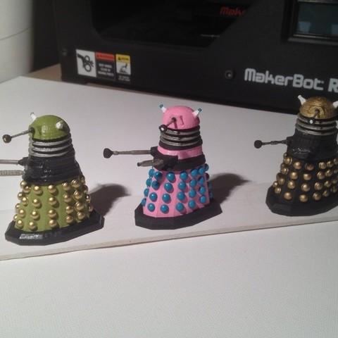 photo1_display_large.jpg Download free STL file Army of Daleks • 3D printing model, Girthnath