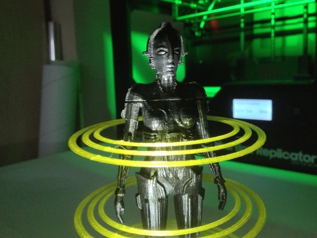 IMG_1844_display_large.jpg Download free STL file Metropolis Robot (Maria) with Rings • 3D printer design, Girthnath