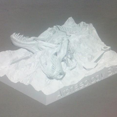 IMG_20140513_182047_544_display_large.jpg Download free STL file Dino Dig Site! • 3D printing template, Girthnath