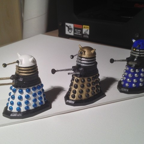 photo2_display_large.jpg Download free STL file Army of Daleks • 3D printing model, Girthnath