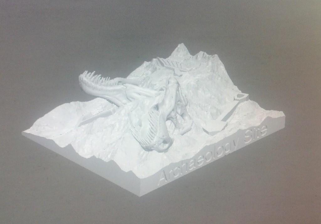 IMG_20140513_182030_275_display_large.jpg Download free STL file Dino Dig Site! • 3D printing template, Girthnath
