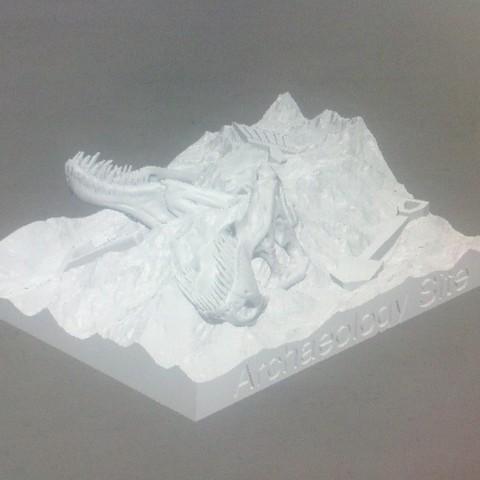 IMG_20140513_182030_275_display_large.jpg Télécharger fichier STL gratuit Site de fouilles Dino ! • Objet pour impression 3D, Girthnath
