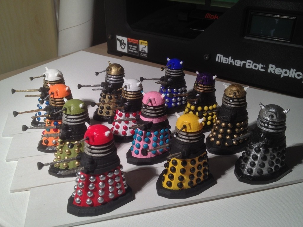 photo5_display_large.jpg Download free STL file Army of Daleks • 3D printing model, Girthnath