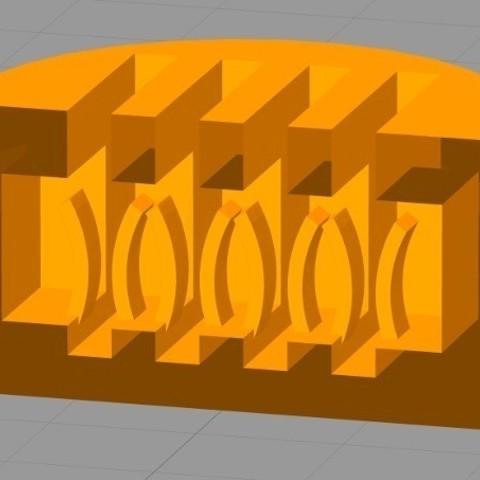 61793da3e7edf2826d9f64a13b1e349d_display_large.jpg Download free STL file Mini Micro SD Card Rounded Box • 3D print template, Girthnath