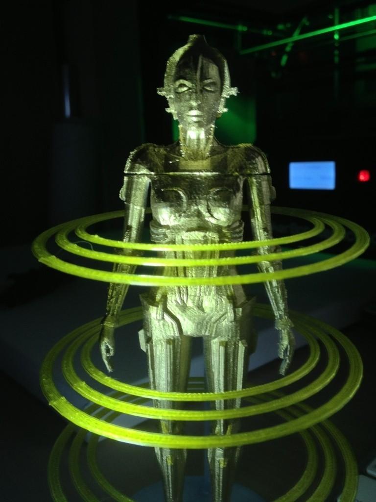 IMG_1858_display_large.jpg Download free STL file Metropolis Robot (Maria) with Rings • 3D printer design, Girthnath