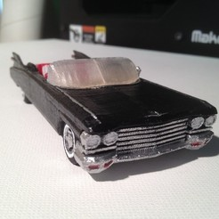 Download free 3D printer designs 1959 Cadillac, Girthnath