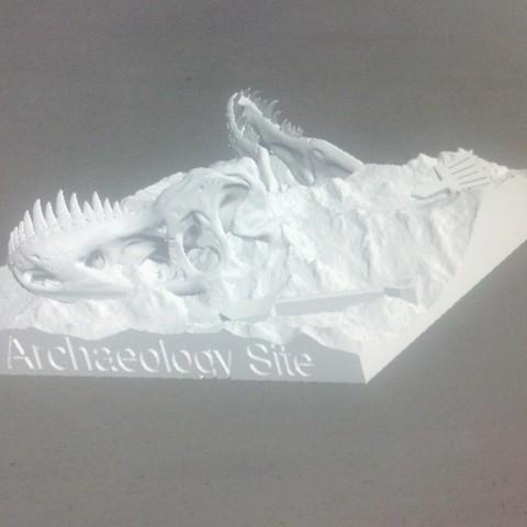 IMG_20140513_182200_367_display_large.jpg Download free STL file Dino Dig Site! • 3D printing template, Girthnath