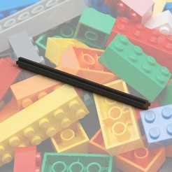 Free 3D printer files Lego Axles, Durbanarb