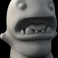 Download free 3D printer model monster Mr Edward Spook, Durbanarb