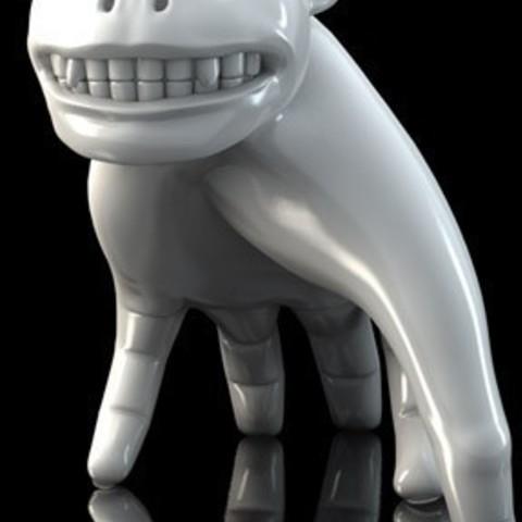 Télécharger fichier imprimante 3D gratuit Monstre familier, Durbanarb