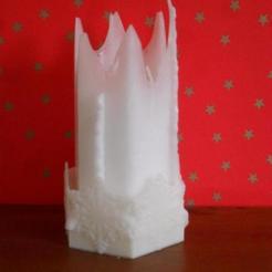 Télécharger fichier 3D gratuit Bougeoir pour bougies en toile d'araignée hexagonale, Durbanarb