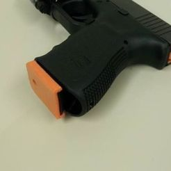 glock_preview_featured_display_large.jpg Download free STL file Glock 9/40/357/45GAP Floorplate • 3D printer design, Durbanarb