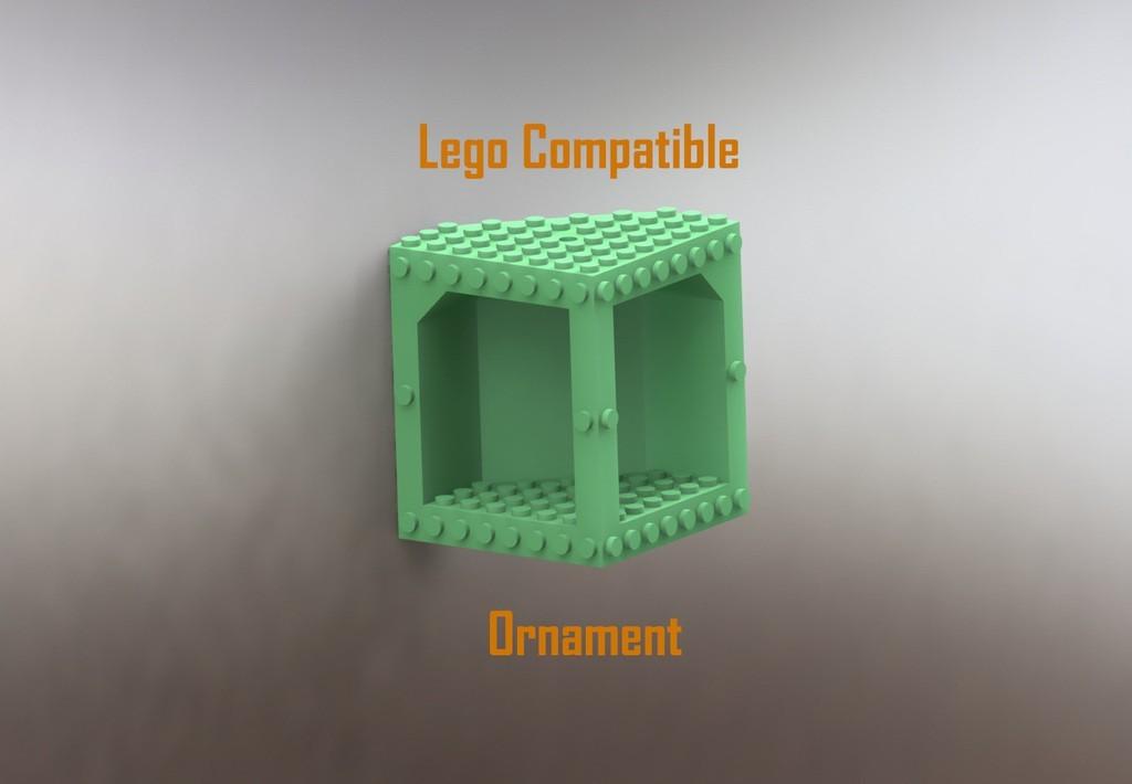 legocomporna_display_large.jpg Télécharger fichier STL gratuit Ornement compatible Lego • Objet à imprimer en 3D, Durbanarb