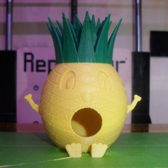 Free 3D printer files Pineapple-man Birdhouse, Durbanarb
