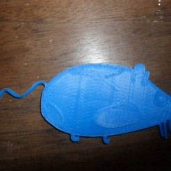 Free 3D printer designs Plump Mouse, Durbanarb