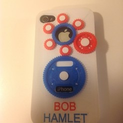 Modelos 3D para imprimir gratis Maletín de equipo capturado para iPhone 4s, Bolnarb
