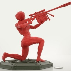 Download free 3D printing models Special Ops Sniper = Code Name: Venom, Bolnarb