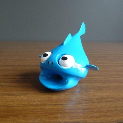 Plan imprimante 3D gatuit LeFishy, Bolnarb