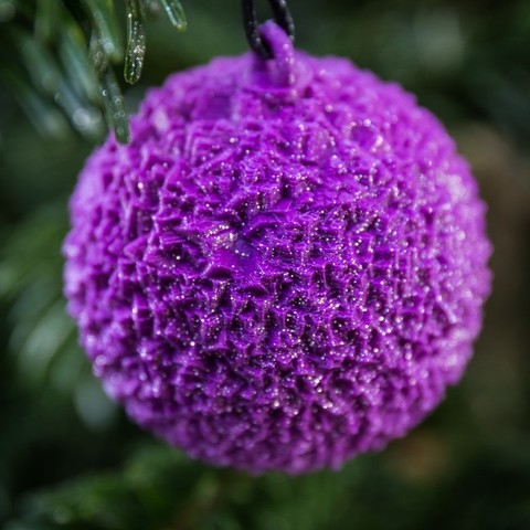 Download free 3D printer files Christmas tree balls, Bolnarb