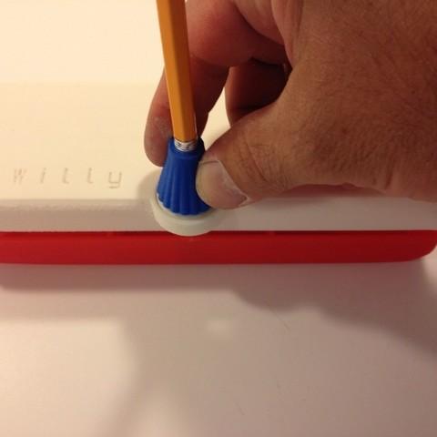 Locking_display_large.jpg Télécharger fichier STL gratuit Coffret de crayons fermant à clé personnalisable • Objet imprimable en 3D, Bolnarb