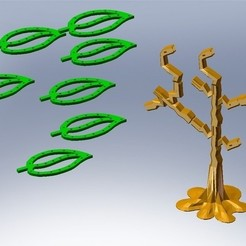 Free 3D printer model Mega Earring Tree, Bolnarb