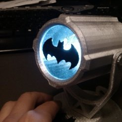 Download free 3D printing designs Bat-signal by LeHof, Bolnarb