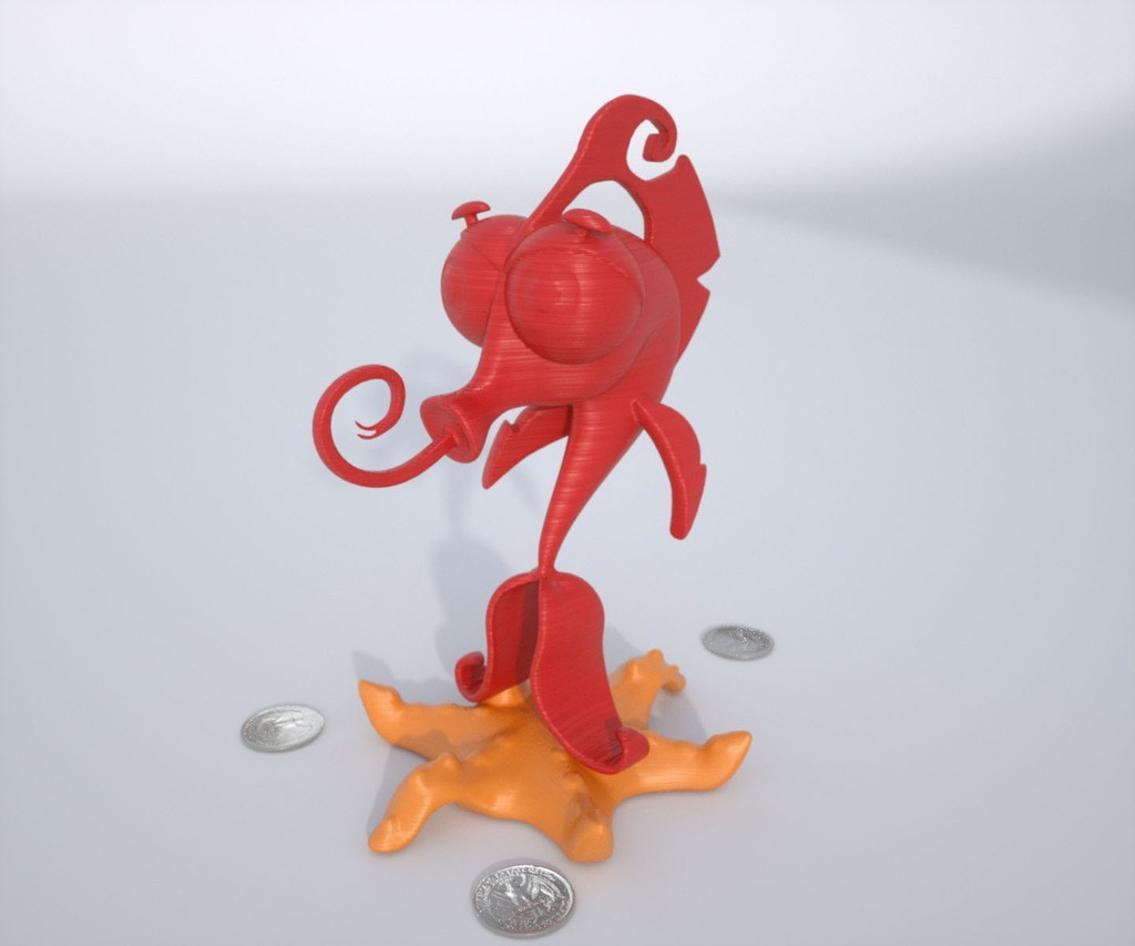 Render1_display_large.jpg Download free STL file Mr. Oz • 3D print template, Bolnarb