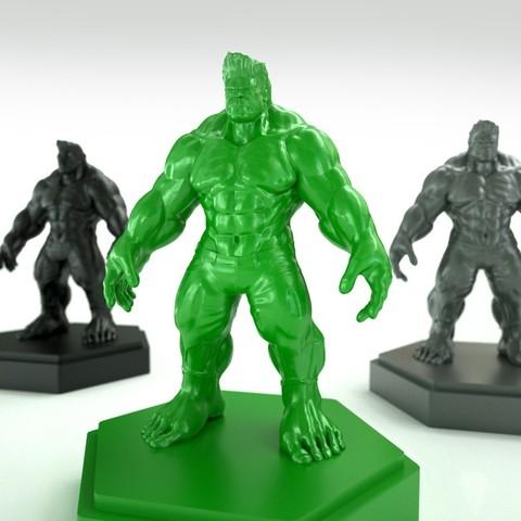 Descargar archivo 3D gratis Modelo de Hulk rediseñado y diezmado de la diseñadora X3RPM, Bolnarb