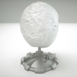 Free 3D printer files VESTA ASTEROID DISPLAY, Bolnarb