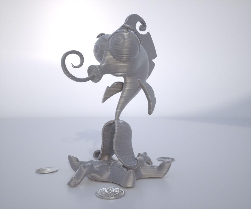 Render5_display_large.jpg Download free STL file Mr. Oz • 3D print template, Bolnarb