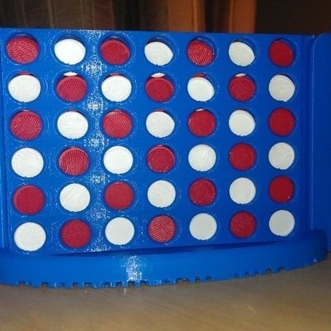 Free 3D print files Connect Four, Bolnarb