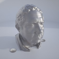 Download free STL Head Sculpt, Bolnarb