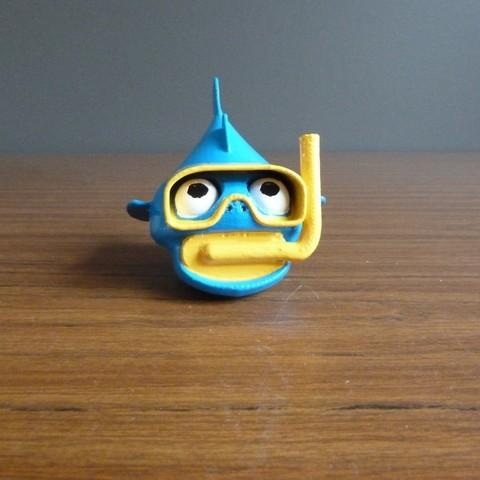 Free 3D model Snorkel Fish, Bolnarb