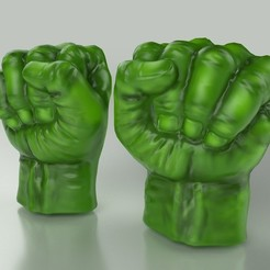 Free 3D printer model Hulk Hands, Bolnarb