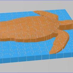Capture.JPG Télécharger fichier STL Puzzle relief tortue 225 pièces • Objet pour impression 3D, veroniqueduval9118