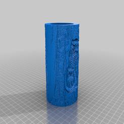 Télécharger fichier imprimante 3D gratuit Pot à crayon sculpté, veroniqueduval9118