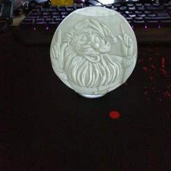 Télécharger fichier STL Boule de Noël - Père Noël • Objet pour imprimante 3D, veroniqueduval9118