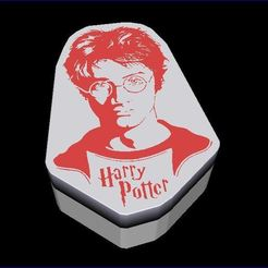 Download STL file Harry Potter Box • 3D printing object, veroniqueduval9118