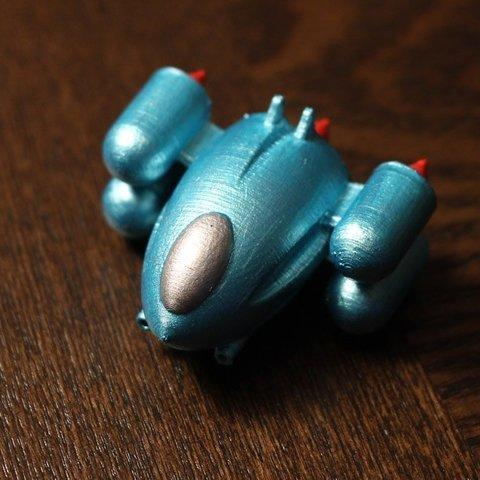 3D printing model Thunderbolt spaceship, auralgasm