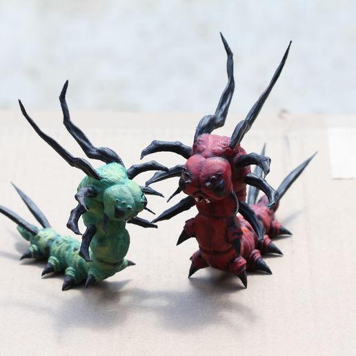 Download 3D model Caterkillar Caterpillar Sculpture, auralgasm