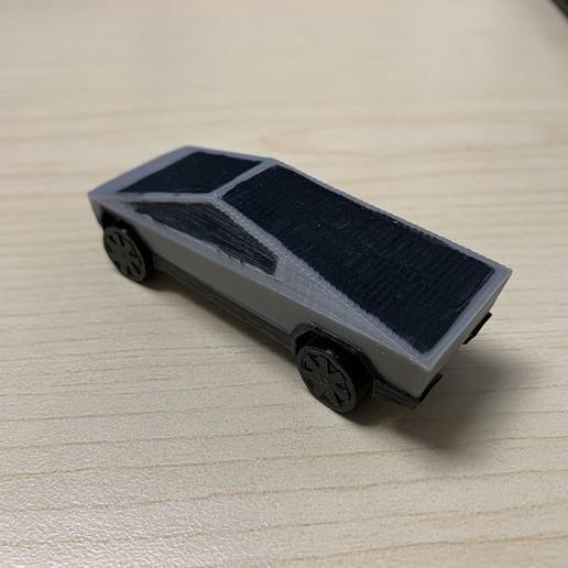IMG_3714.JPG Download free STL file Tesla Cybertruck • 3D printer template, auralgasm