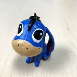 IMG_3676.JPG Download STL file Baby Eeyore • 3D printer template, auralgasm