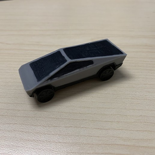 IMG_3713.JPG Download free STL file Tesla Cybertruck • 3D printer template, auralgasm
