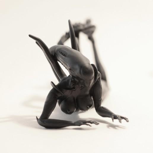 Download 3D printing models Sexy Alien V2, auralgasm