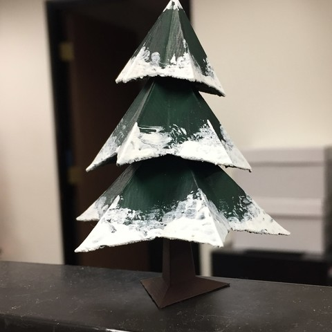 Download free 3D printer designs Low Poly Xmas Tree ・ Cults