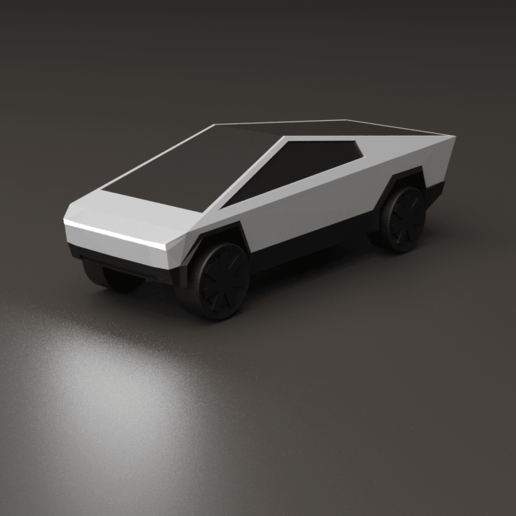 Download free 3D printer designs Tesla Cybertruck, auralgasm