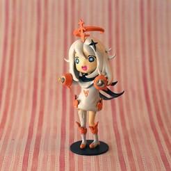IMG_3570.jpg Download STL file Paimon Genshin Impact • 3D printable object, auralgasm